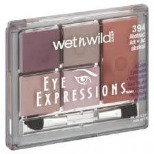 Sombras Eye Expressions, Estuche Wet n Wild 394