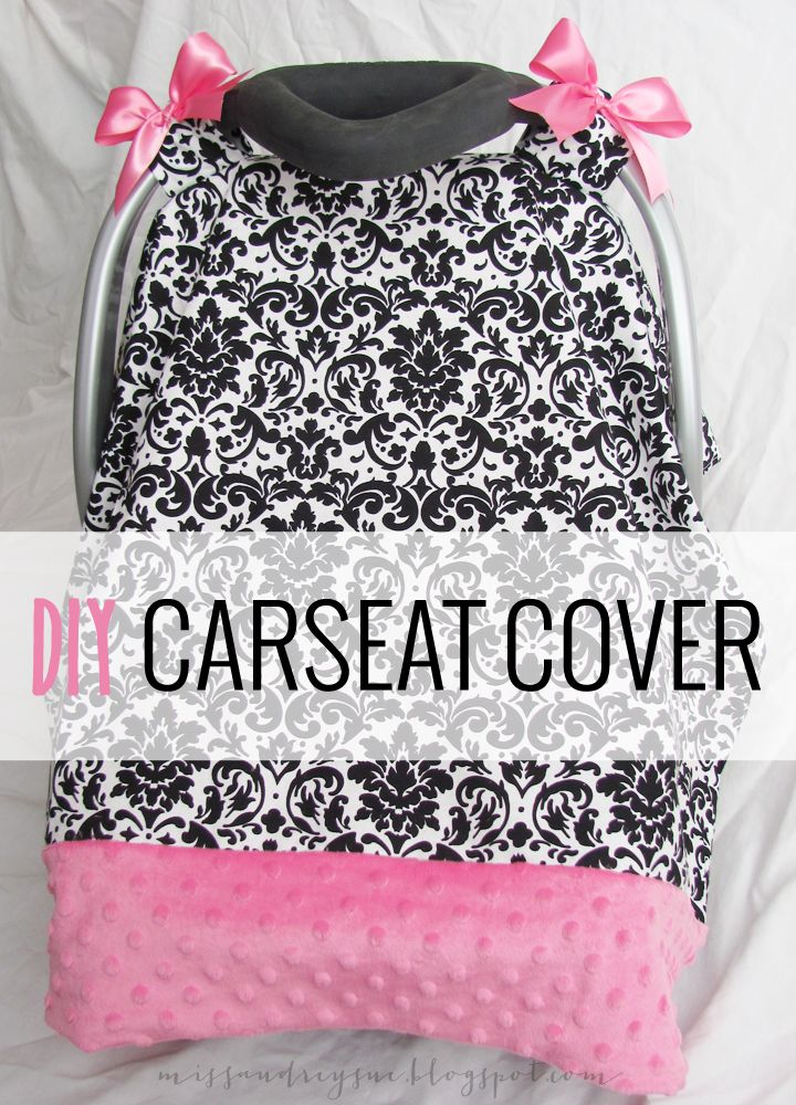 Miss Audrey Sue | BLOG: DIY: carseat cover tutorial