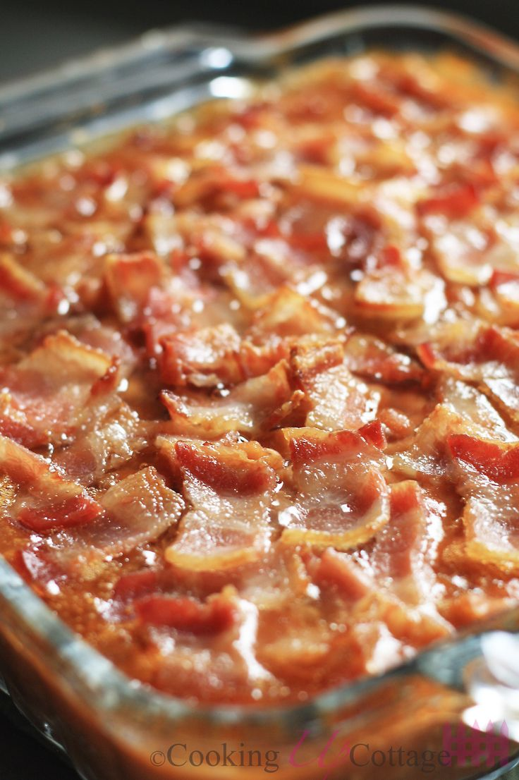 Easy Baked Beans with Bacon