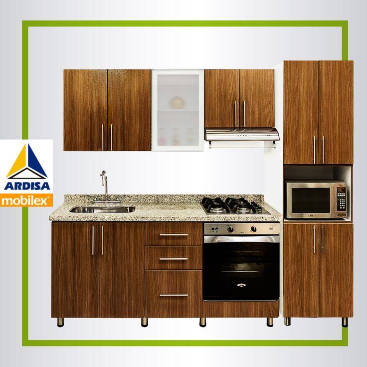 La colección de muebles de cocina Express Plus está llena de calidad y diseño.