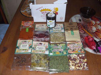 W Mojej Kuchni Lubię.. : nowa dostawa aromatycznych przypraw z kawą Bio...