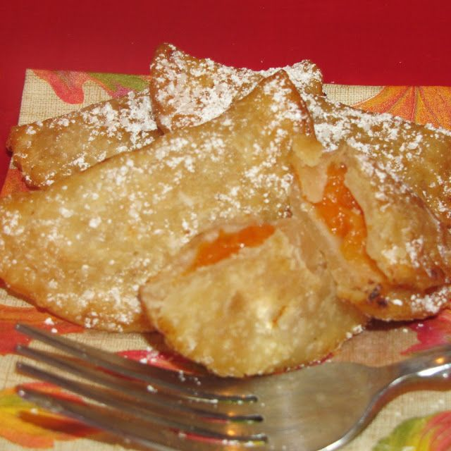 37 Cooks: Mini Apricot Fried Pies #recipes