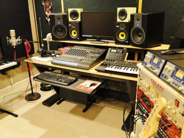 Best DIY Recording Studio Projects Images On Pinterest Sound - Cheap diy ikea home studio desk