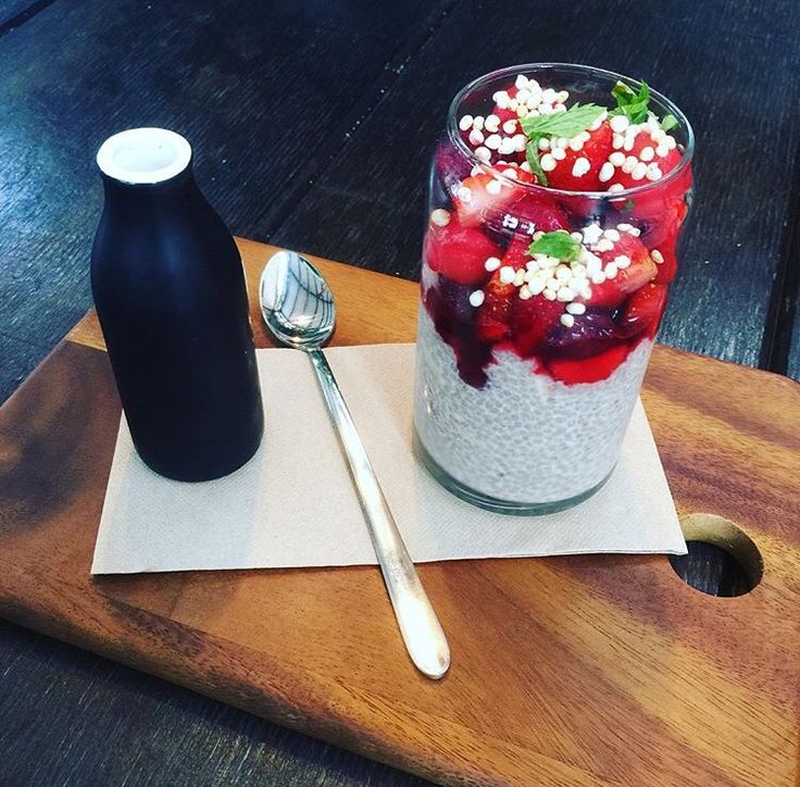 Chia pudding from Second Home, Eltham