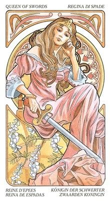 My own card. Long been tempted by this gorgeous watercolor hued deck. Art Nouveau tarot deck | UK Wholesale Distributors > Gifts: Tarot & Oracle > Tarot Art Nouveau ...