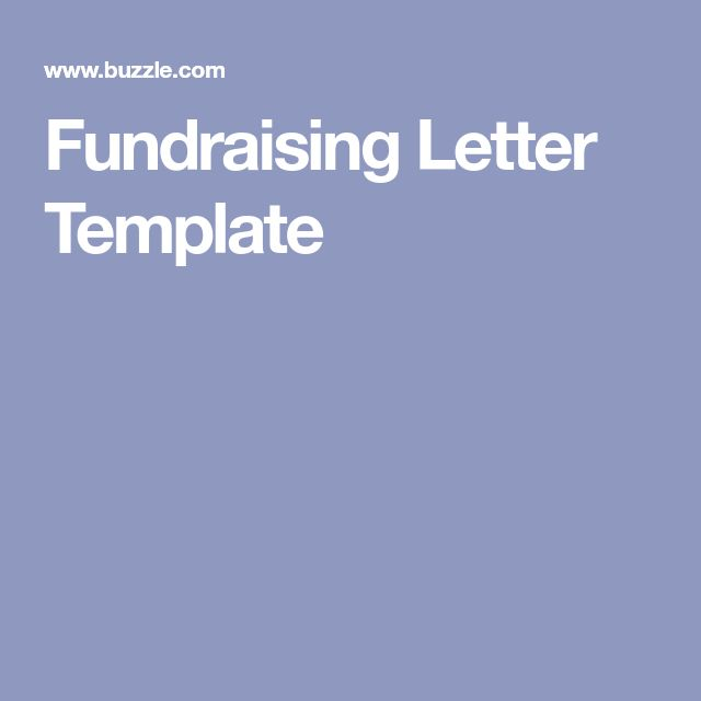 The  Best Fundraising Letter Ideas On   Nonprofit