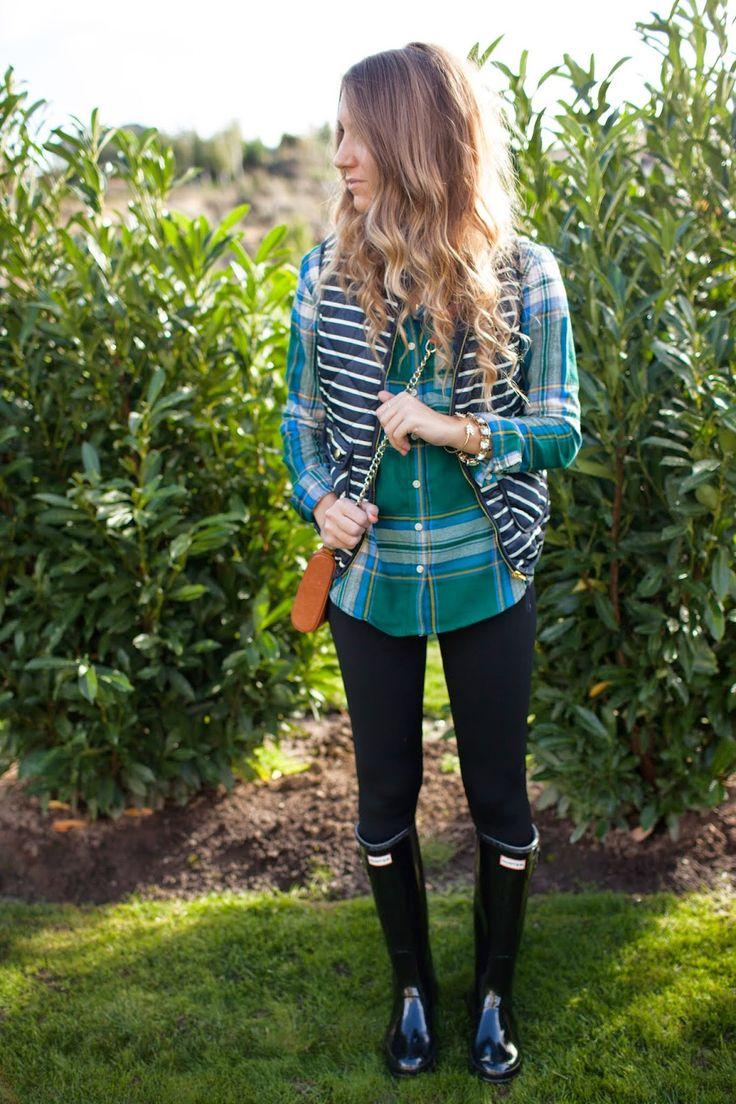 Best 25  Navy hunter boots ideas on Pinterest | Striped women's ...