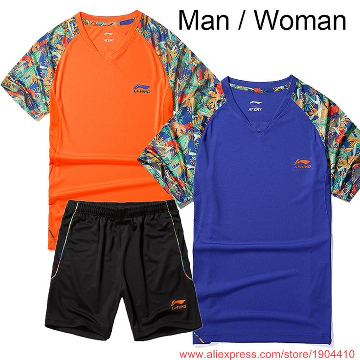 $23.50 (Buy here: https://alitems.com/g/1e8d114494ebda23ff8b16525dc3e8/?i=5&ulp=https%3A%2F%2Fwww.aliexpress.com%2Fitem%2FNew-Li-Ning-Chinese-Team-Woman-Man-table-tennis-clothes-li-ning-Table-tennis-shirt-short%2F32640328549.html ) New LN CHINA Team Woman/Man table tennis clothes , li ning Table tennis shirt + short , Pingpong t-shirt +shorts for just $23.50