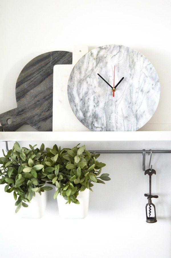 Mer enn 20 bra ideer om Uhren selber machen på Pinterest - fliesenspiegel küche selber machen