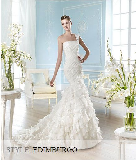 San Patrick Wedding Gown - Glamour Collection 2014 - Edimburgo