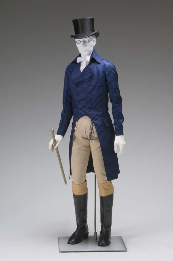 Frock coat, c. 1805-1810, English, French, or American.