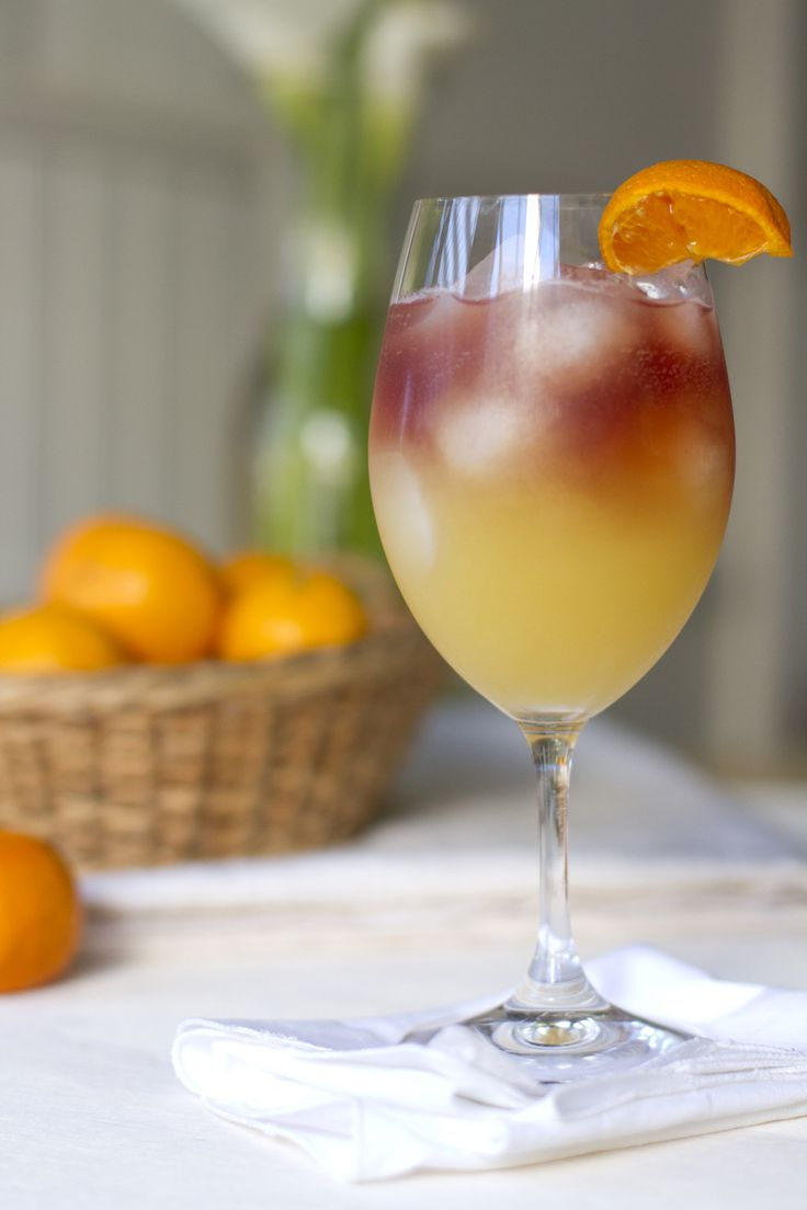 Pomegranate Sunrise - Click for Recipe