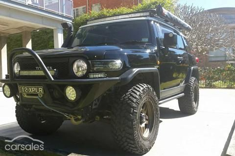 2013 Toyota FJ Cruiser (No Badge) GSJ15R Cars for sale in NSW - Carsales Mobile