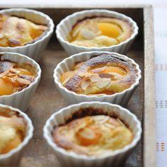Gratin d'abricots à la crème d'amande