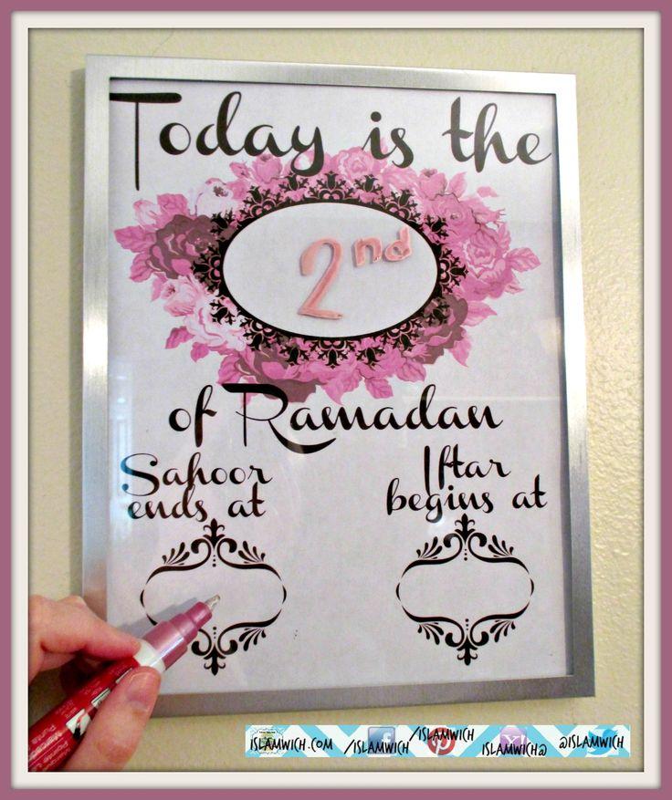 Ramdan reminder