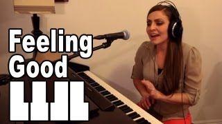 Feeling Good Piano Cover by Missy Lynn - YouTube