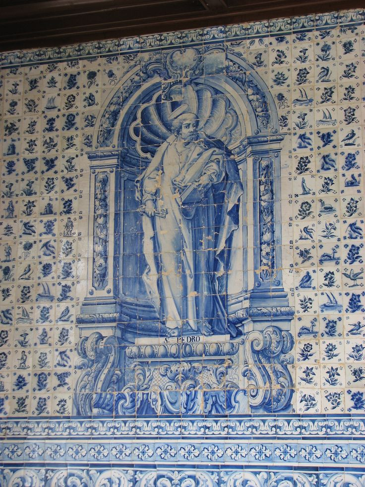 Loures   Galilé da Igreja de / Galilee of the Church of Santo Antão do Tojal [© Francisco Queiroz] #Azulejo #AzulejoDoMês #AzulejoOfTheMonth