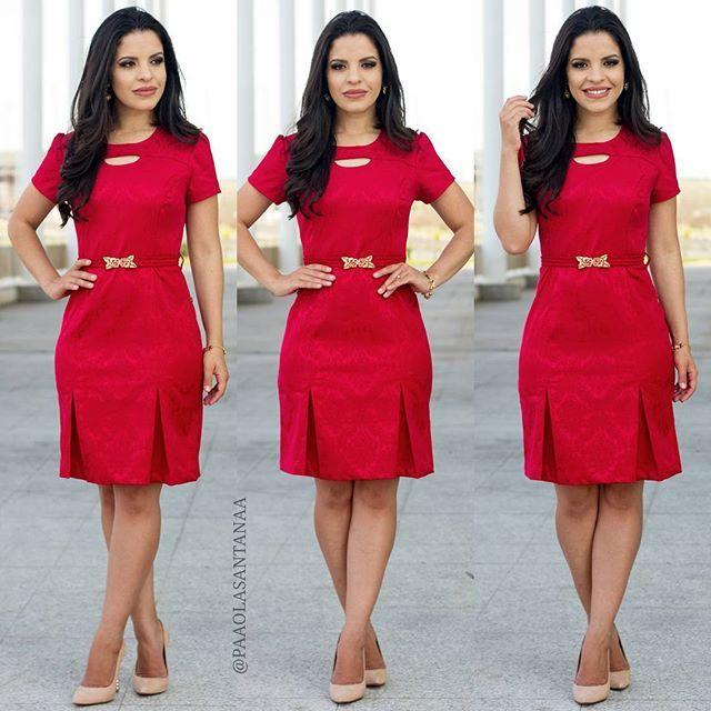{Lady Red ❤ Vestido Poderoso da @lojavirtuosaboutique} ✅@lojavirtuosaboutique ✅@lojavirtuosaboutique (67) 99175-6848 www.virtuosaboutique.com.br/