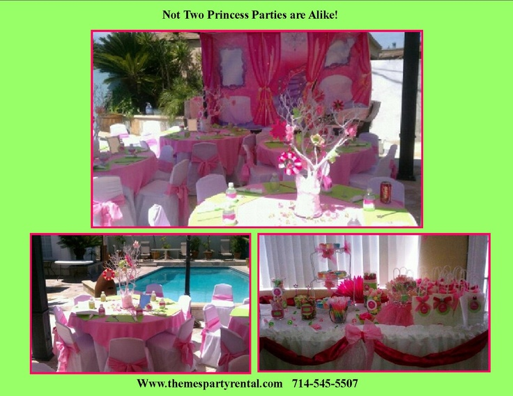 13 Best Images About Princess Parties On Pinterest Princess Birthday Parties Table And Chairs