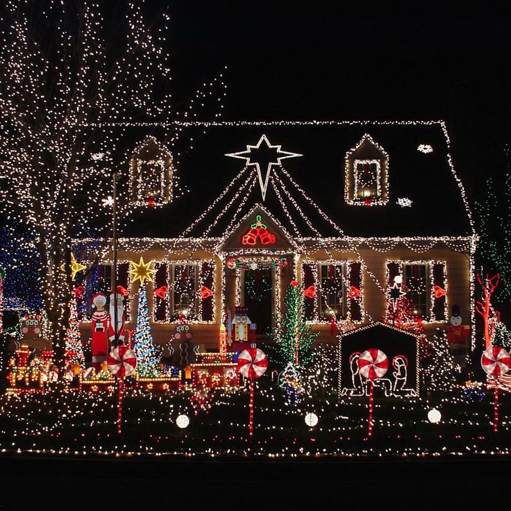 50 Spectacular Home Christmas Lights Displays 1063