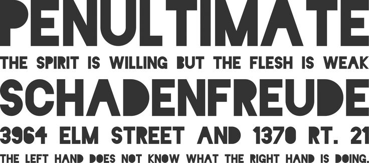 Free Font Blackout by The League of Moveable Type | Font Squirrel