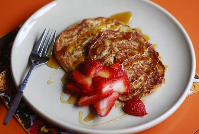 Croissant French Toast | eat | Pinterest
