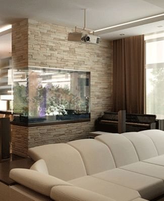 I grew up with fish tanks in almost every room of our house! I'd love to have one in my home one day!
