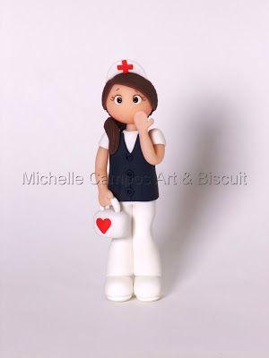 Michelle Campos Art & Biscuit: Biscuit Profissões