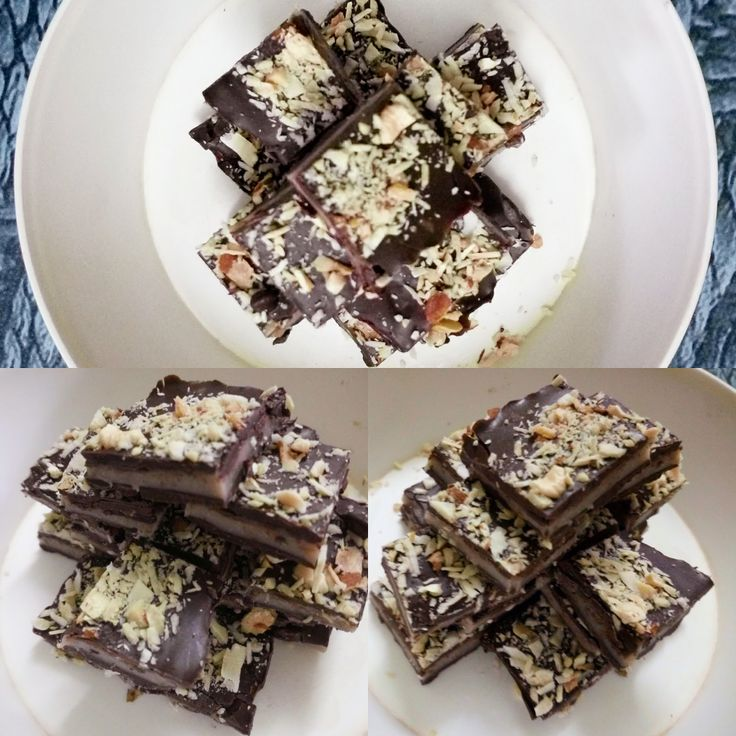 Minty chocolate bites is a very unique dessert recipe which also works as a mouth freshener at the end of the meal. It is not a regular ch...