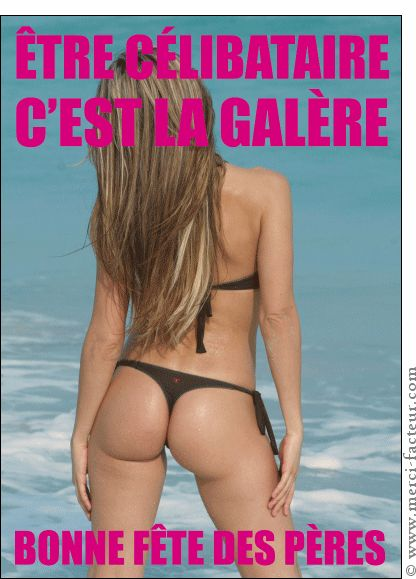 Carte Etre c�libataire c'est la gal�re pour envoyer par La Poste, sur Merci-Facteur !