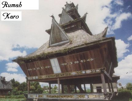 Rumah Karo : Batak Karo Traditional House