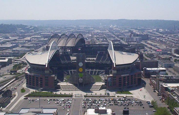 CenturyLink Field - Seattle Seahwaks.  Apparently the loudest field in the NFL!