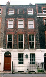 Benjamin Franklin House, Charing Cross, £5 for students