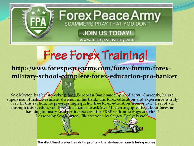 Forex training free