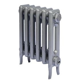 2 column radiator - gun metal