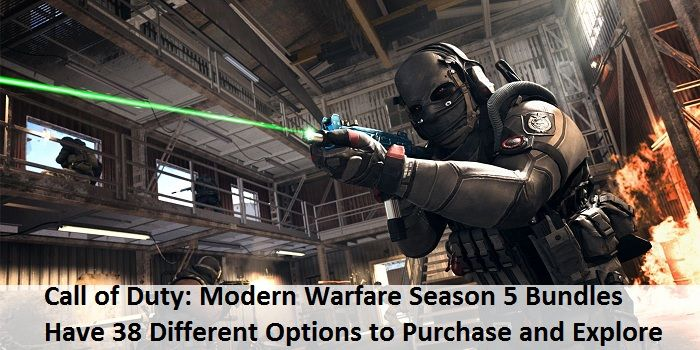Call Of Duty Modern Warfare Season 5 Bundles Have 38 Different Options To Purchase And Explore In 2020 Modern Warfare Call Of Duty Warfare