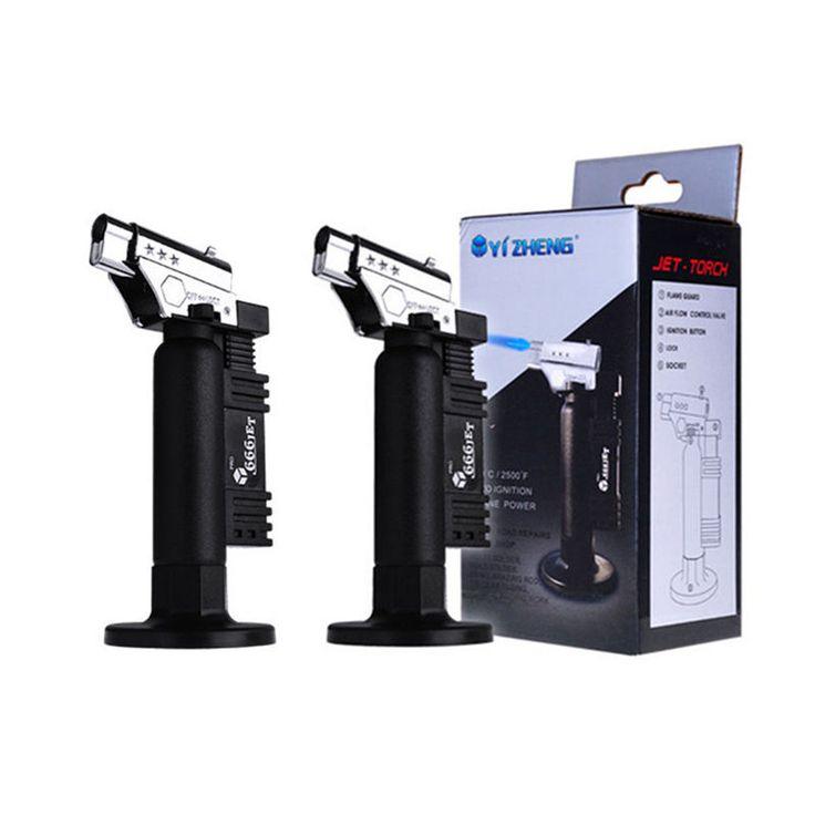 2 pcs dental butane gas welding torch soldering gun lighter flame micro torch