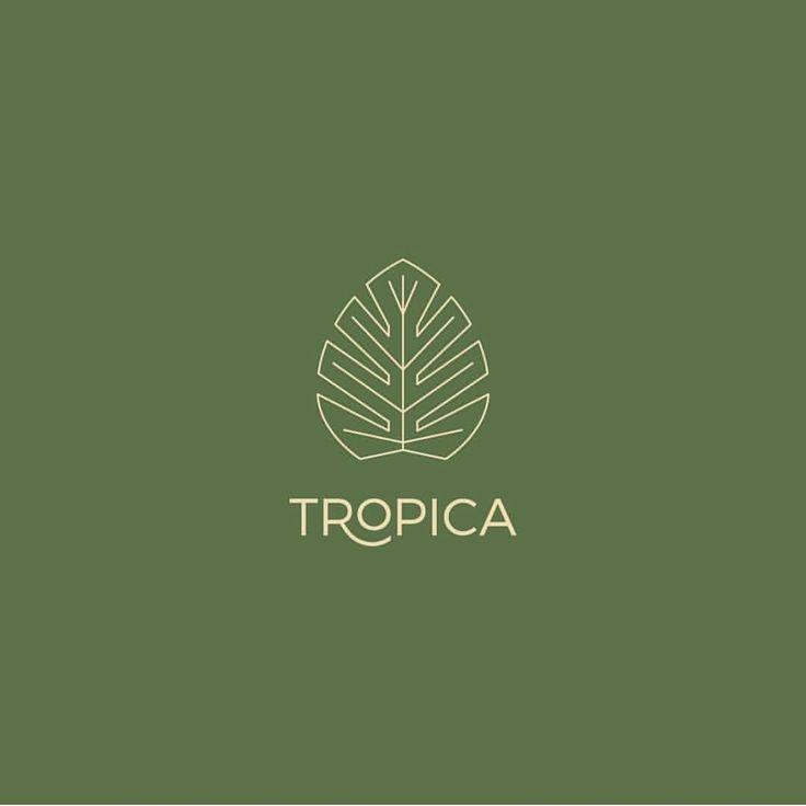 👈 Tropica by @tinaperkodesign - ✅ LEARN LOGO DESIGN👇👇 @learnlogodesign @learnlogodesign