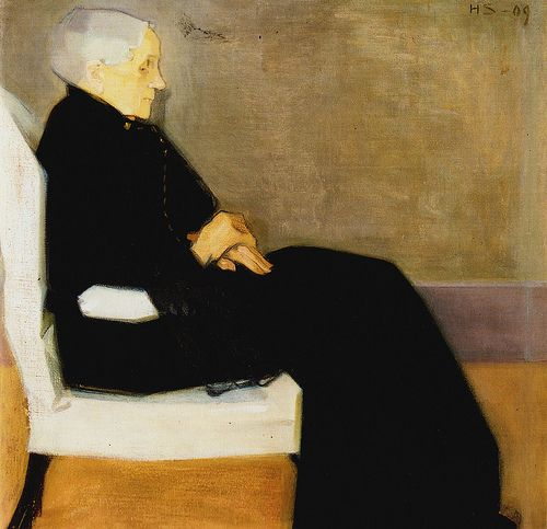 Old Woman, Helene Schjerfbeck