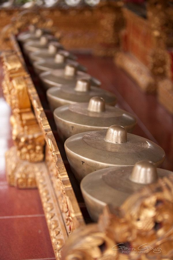 gamelan - Indonesian traditional music instrument