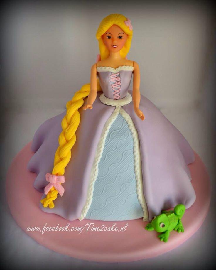 Disney Rapunzel taart