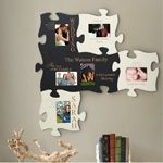 Have fun together on your 5 year anniversary with a made-to-order photo puzzle constructed from wood.
