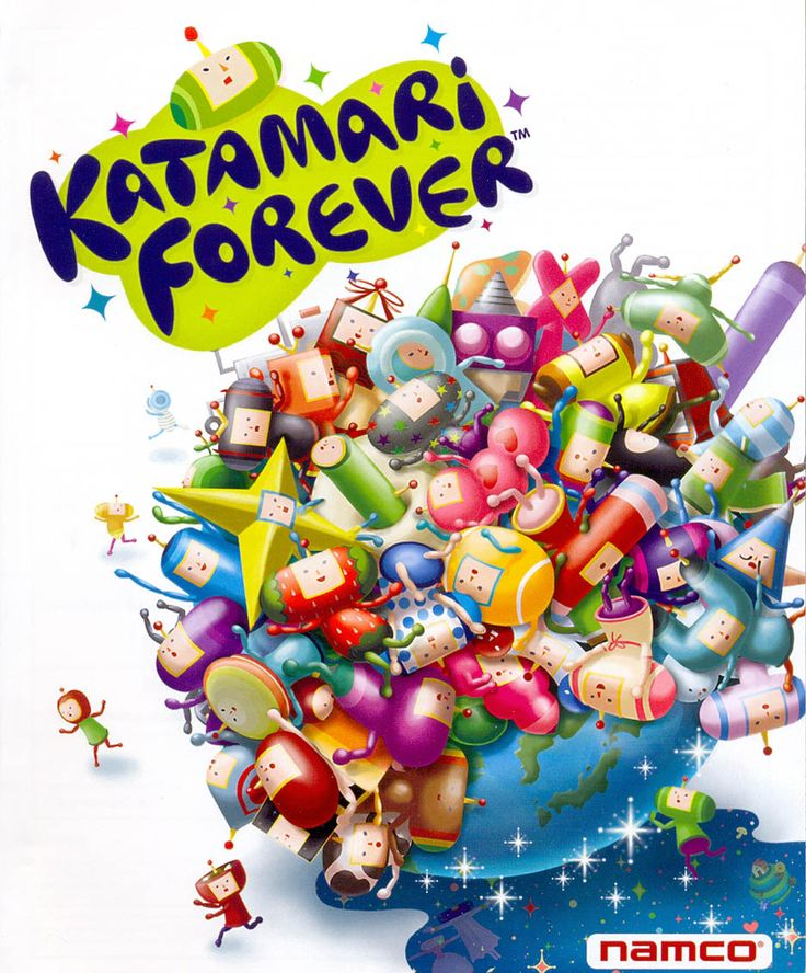 Katamari Forever Best ps3 games, Games for kids, Video