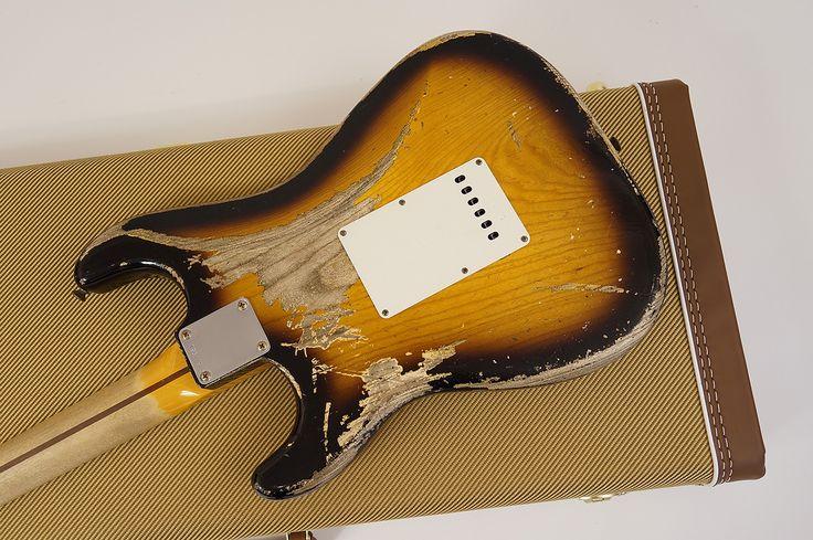 Stratocaster Usa Custom Shop 1957 R77951 Heavy Relic 2 Color