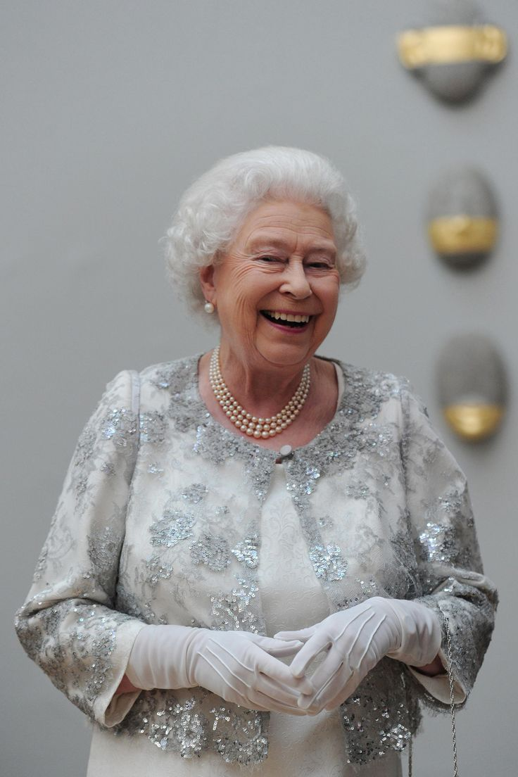 Queen Elizabeth ~ I love to see the Queen smiling, happy, and laughing ~ she often looks so much more relaxed today!