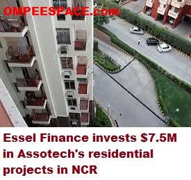 Essel Finance puts $7.5m in Assotech's private activities in NCR  Early this year, Essel Finance's realty fund invested in Mumbai-based Ariisto Realtors' project. see more at:- (http://goo.gl/lQ5sbJ) Essel Finance, the money related administrations arm of the Subhash Chandra-pushed expanded business aggregate, has contributed Rs 45 crore ($7.47 million) in two private activities of land designer Assotech Ltd.
