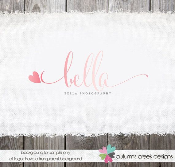 Photography Logo - premade logo design for photographer small business on Etsy, $35.00