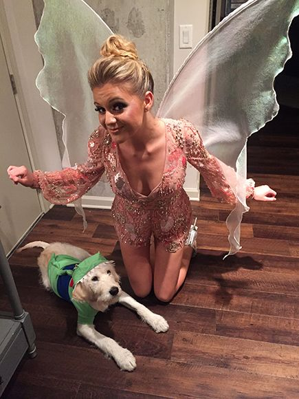 Back to Neverland! Inside Kelsea Ballerini and Dog Dibs' Peter Pan-Inspired Halloween http://www.people.com/article/kelsea-ballerini-dibs-halloween-costume