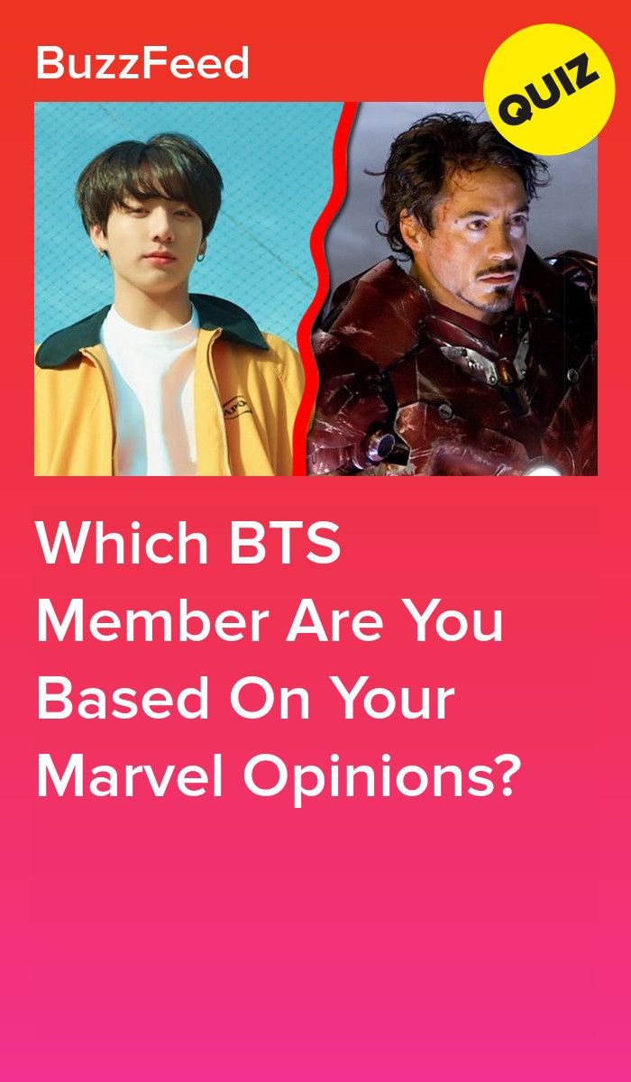 Which BTS Member Are You Based On Your Marvel Opinions