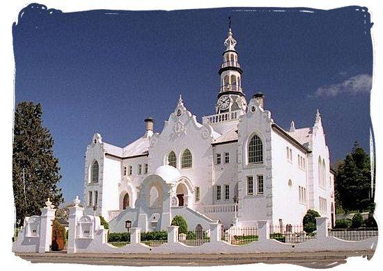 Swellendam, South Africa - the historical Dutch reformed church